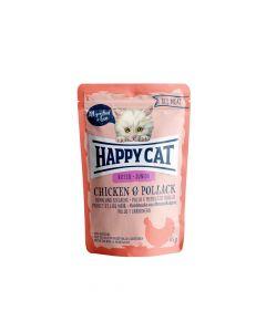 Happy Cat Junior Piletina i kolja 85 g  vrećica