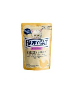 Happy Cat Junior piletina i patka 85 g  vrećica