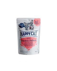 Happy Cat Piletina i losos u umaku 85 g  vrećica