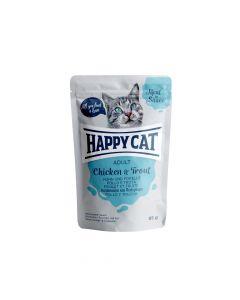 Happy Cat Piletina i pastrva u umaku 85 g  vrećica