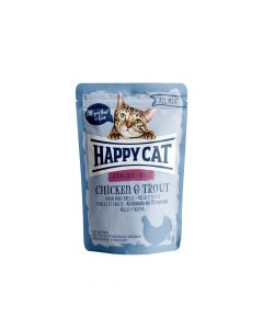 Happy Cat Sterilised Piletina i pastrva 85 g  vrećica