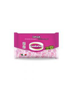 Inodorina Refresh Aloe Vera vlažne maramice, 40 komada