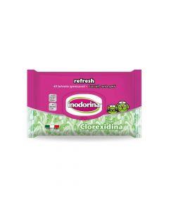 Inodorina Refresh Clorexidine vlažne maramice, 40 komada