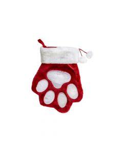 Kong igračka za pse božićna Stocking Paw Large
