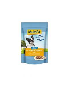 MultiFit Adult piletina i povrće u želeu 100 g vrećica