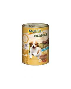 MultiFit Farmer Junior piletina i puretina 400 g konzerva