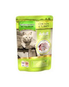 Natures Menu Cat piletina i puretina 100 g vrećica