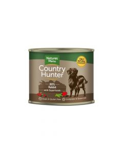 Natures Menu Country Hunter zec i brusnica, konzerva 600 g
