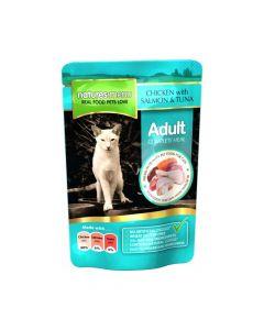 Natures Menu Cat piletina, losos i tuna 100 g vrećica