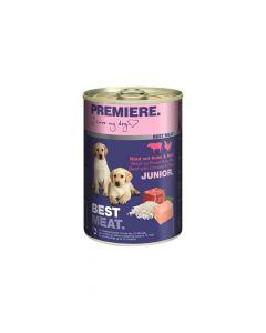 Premiere Best Meat Junior govedina, piletina i riža, 800 g konzerva