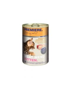 Premiere Cat Meat Menu Junior govedina i perad 400 g konzerva
