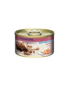 Premiere Cat Mousse govedina 85 g konzerva