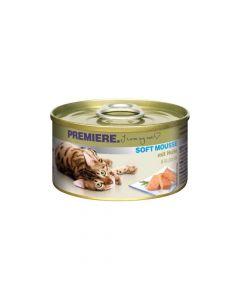 Premiere Cat Mousse piletina 85 g konzerva
