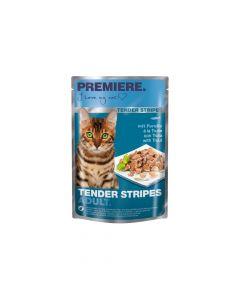 Premiere Cat Tender Stripes pastrva 85 g vrećica