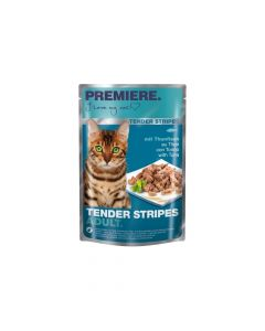 Premiere Cat Tender Stripes tuna 85 g vrećica