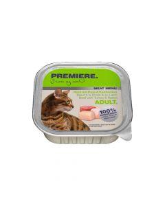 Premiere Cat Meat menu Adult govedina, puretina i zec 100 g ALU-pak