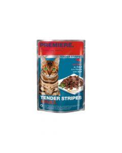 Premiere Cat Tender Stripes govedina 85 g vrećica