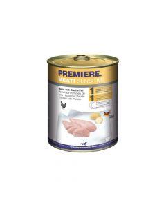 Premiere Meati Sensitive piletina i krumpir, konzerva 800g