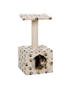 Trixie grebalica za mačke Zamora 60 cm, bež sa šapicama