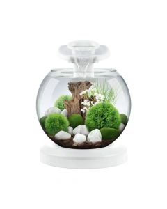 Tetra akvarij Duo Waterfall Globe LED bijeli 6,8 l