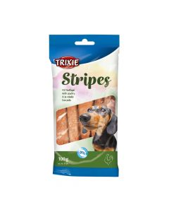 Trixie poslastica za pse 10 Stripes light perad 100 g