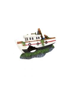Trixie ukras za akvarije ribarski brod, 15 cm