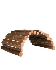 Trixie drveni most za glodavce, fleksibilan 51x30 cm