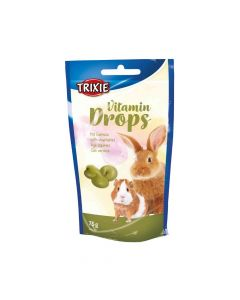 Trixie poslastica za glodavce Drops povrće 75 g