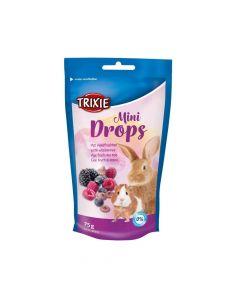 Trixie poslastica za glodavce Mini drops jagoda 75 g