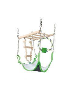 Trixie igračka za glodavce viseći most, 17x22x15 cm