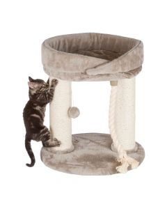 Trixie grebalica za mačke Marcela 60 cm, siva