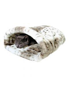 Trixie ležaj za mačke Leika 25x27x45 cm bijela/bež
