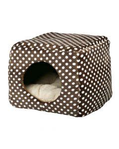 Trixie ležaj za mačke Mina 40x32x40 cm smeđe/bež