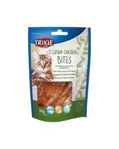 Trixie poslastica za mačke Premio Catnip Chicken bites 50 g