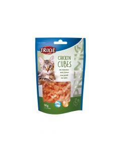Trixie poslastica za mačke Premio Cubes piletina 50 g