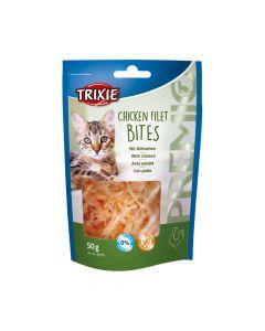 Trixie poslastica za mačke Premio Filet Bites piletina 50 g