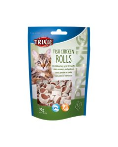Trixie poslastica za mačke Premio light rolls 50 g