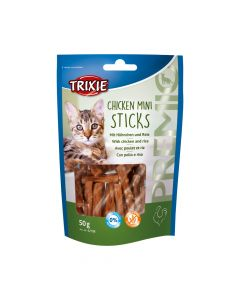 Trixie poslastica za mačke Premio Mini sticks 50 g
