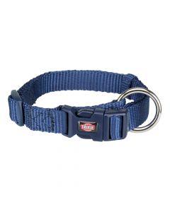 Trixie ogrlica Premium XXS-XS 15-25 cm/10 mm, tamno plava