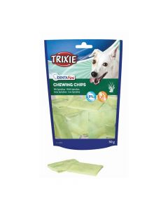 Trixie poslastica za pse Dentafun Chips light sa spirulinom, 50 g