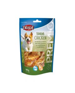 Trixie poslastica za pse Premio Banana chicken 100 g