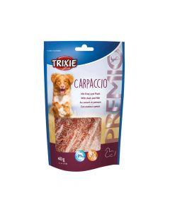 Trixie poslastica za pse Premio Carpaccio patka/riba 40 g