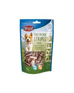 Trixie poslastica za pse Premio Stripes light 75 g