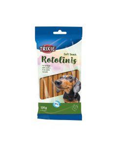 Trixie poslastica za pse Rotolinis puretina, 12 komada