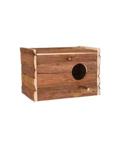 Trixie gnijezdo drveno prirodno za ptice 30x20x20 cm