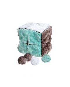 Trixie igračka za pse plišana kocka 21 cm