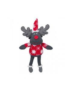 Trixie igračka za pse božićna sob tkanina 42 cm smeđi/sivi, 1 komad