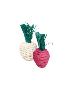 Trixie igračka za glodavca Straw rotkica 8 cm