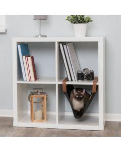 Trixie viseći ležaj za police za mačke, 56x36 cm sivi