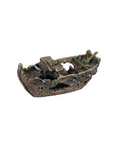 Trixie ukras za akvarij olupina broda 29 cm